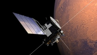 A Mars probe. Image courtesy of NASA.